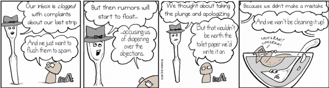 Our Mistake with the Dunk the CHORF webcomic