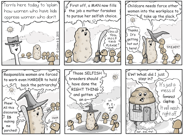 No potatoes were harmed in the making of this comic.