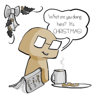 Codex Wonders Why Readers are Here on Christmas