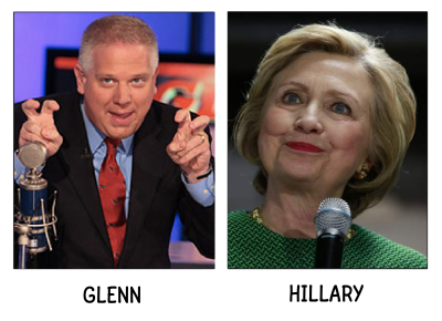 Poli-Match_Glenn_and_Hillary