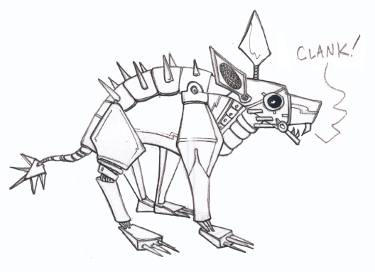 saturday_sketch_robot_chubacabra