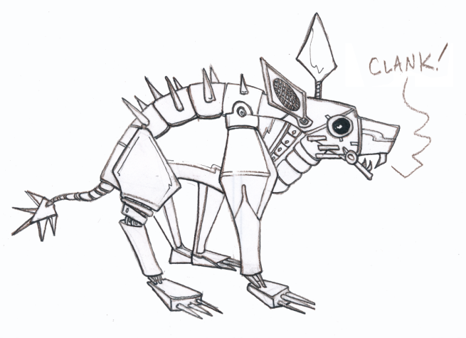 saturday_sketch_robot_chubacabra